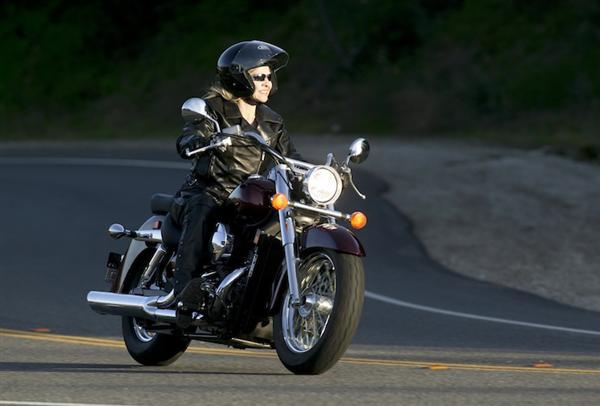 Solo Honda Rider Action