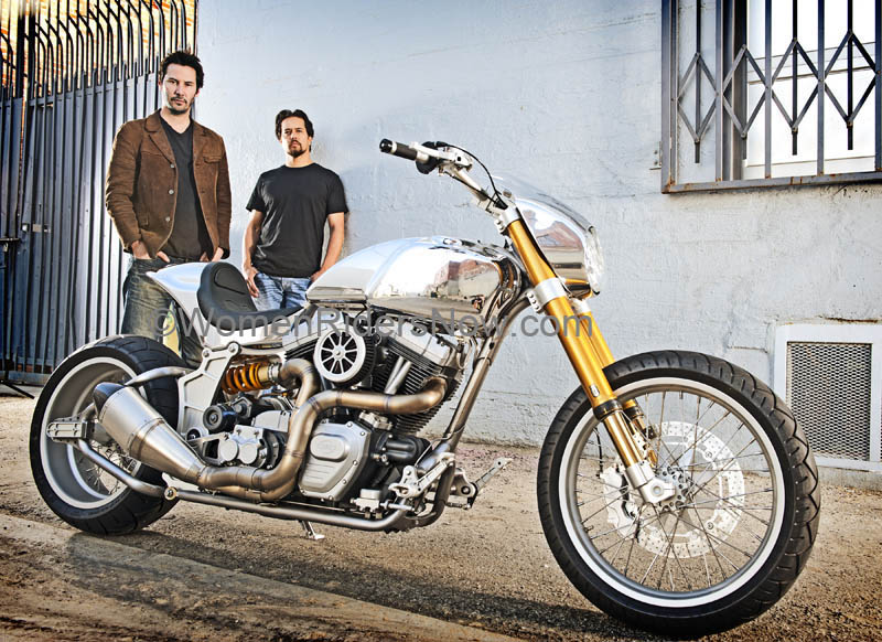 exclusive interview keanu reeves and his arch motorcycle company gard hollinger