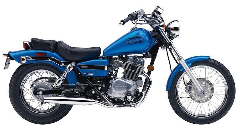 Honda Rebel Color Options 2009 blue