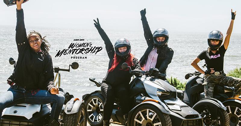 can-am on-road womens mentorship program