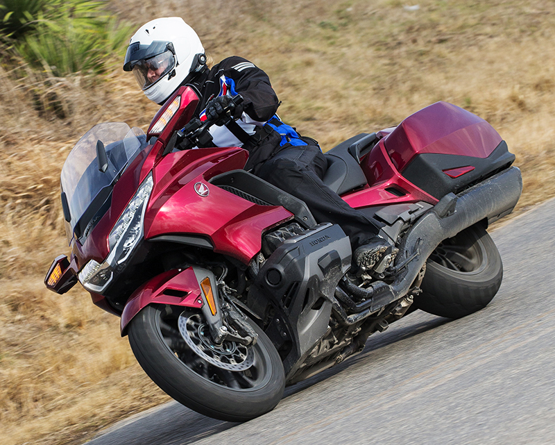 2018 honda gold wing touring motorcycle review