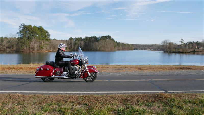 review 2016 2017 indian motorcycle springfield woman riding