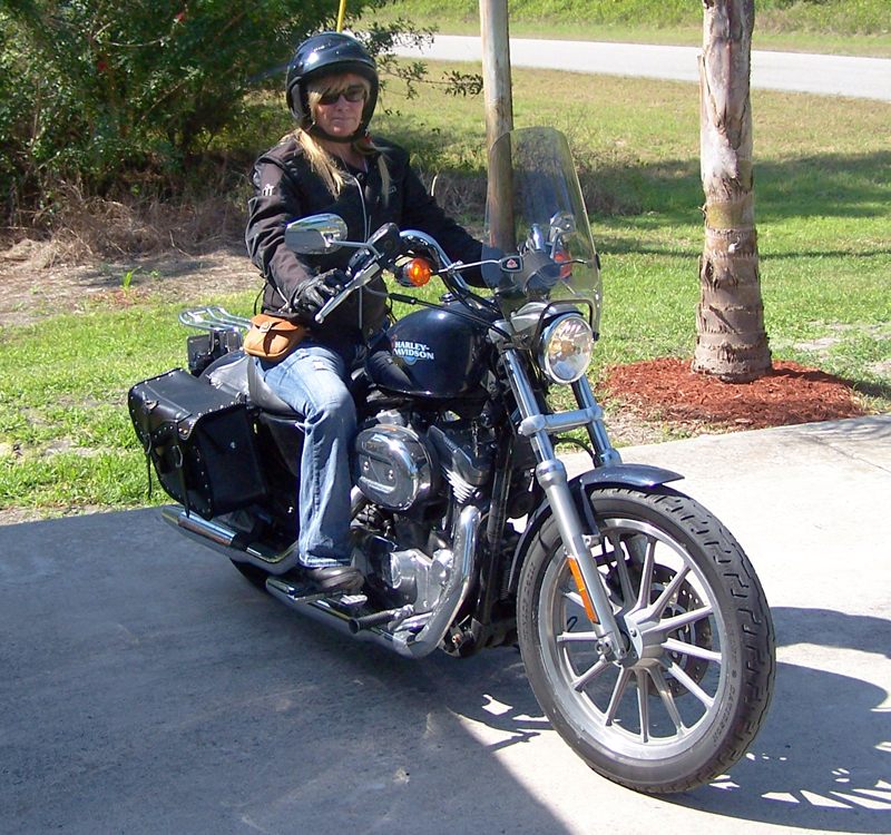 making the dream of riding come true in 40s sportster 883