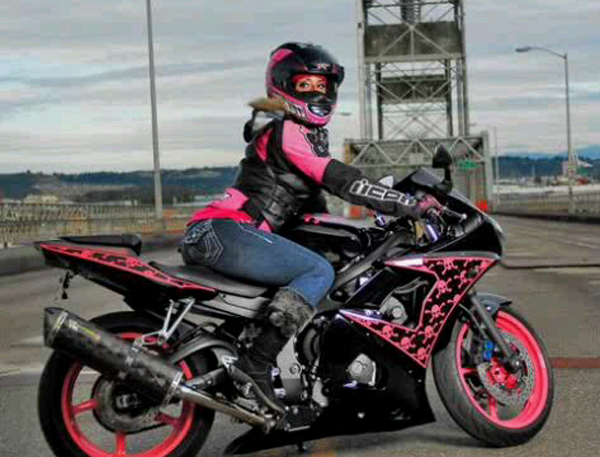 Turning Ones Passion for Motorcycles into a Career Stephanie
