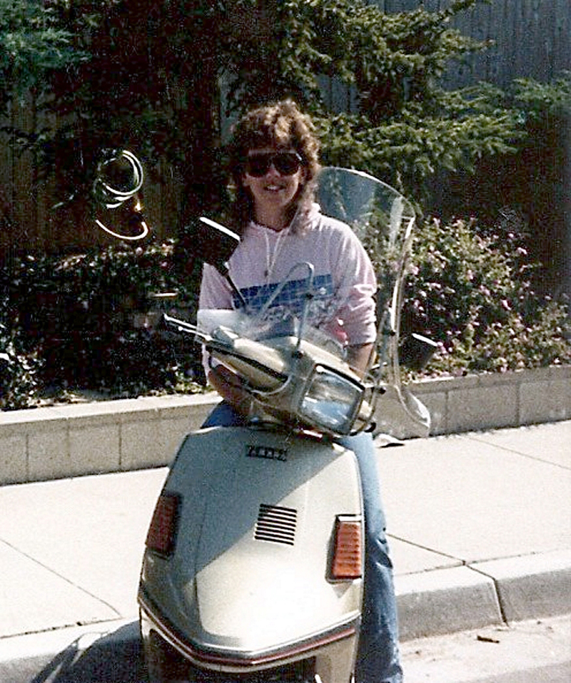 find love on a motorcycle one honda at a time yamaha riva 180
