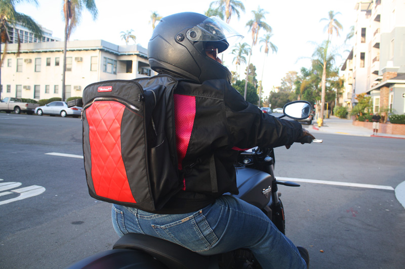 review lauren bag by motochic backpack
