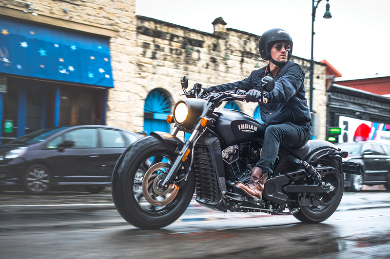 less is more indian scout bobber