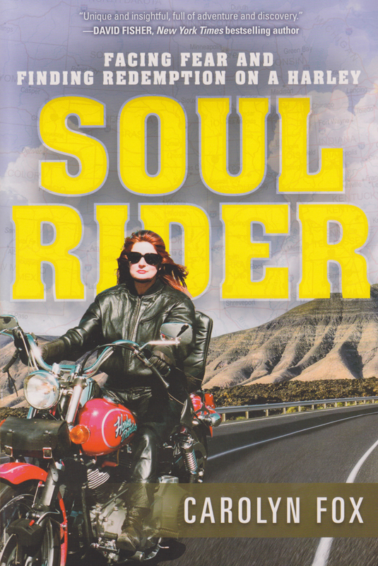 book preview soul rider by carolyn fox front cover