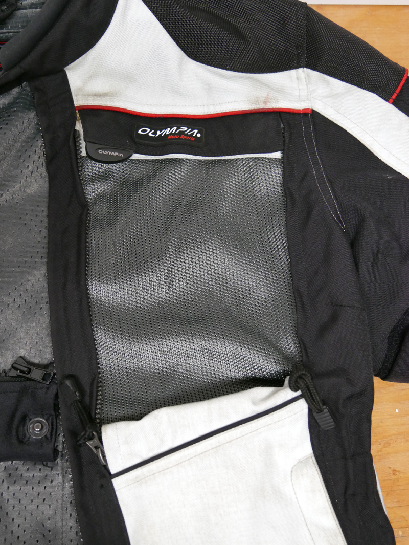 affordable techncial 4 season motorcycle riding suit front vent