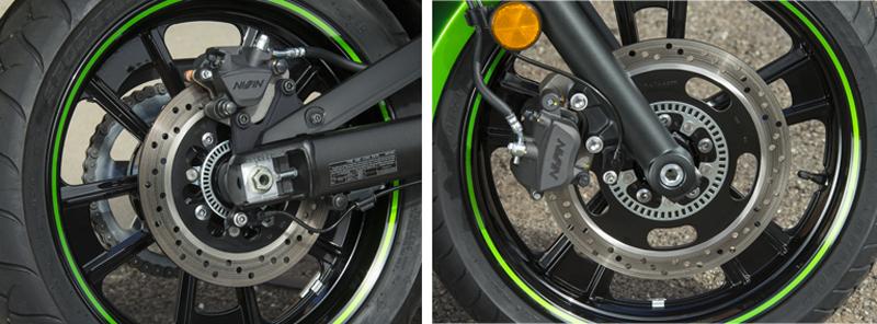 motorcycle review 2015 kawasaki vulcan s wheels abs