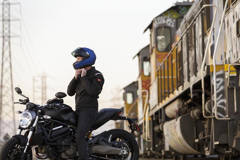 shoei rf-sr entry-level motorcycle helmet strap