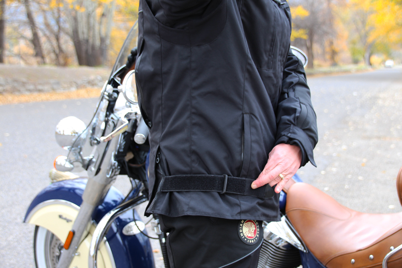 Review: Simple Waterproof Motorcycle Touring Pants Jacket Adjustable Side Straps