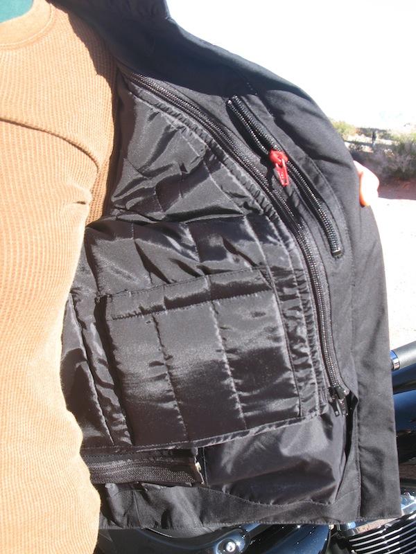 Alpinestars Stella T-Fuel Jacket Review Inside Pocket