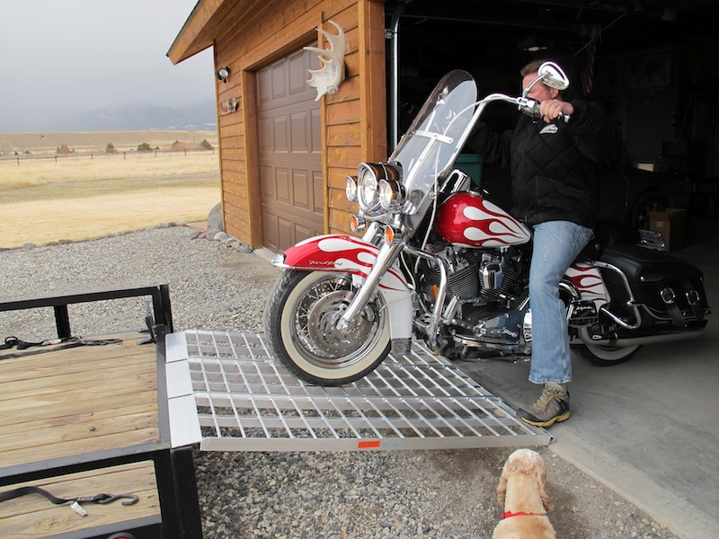 Review Best Motorcycle Trailer Loading Ramp Road King