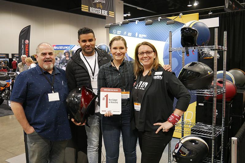 WRN Presents Winners at Denver IMS Quin Tim Calhoun Hannah Surabhi