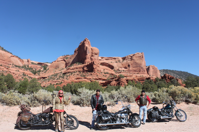 Backroads With Betsy Riding the Rez Part 1 Butt Rock motorcycles