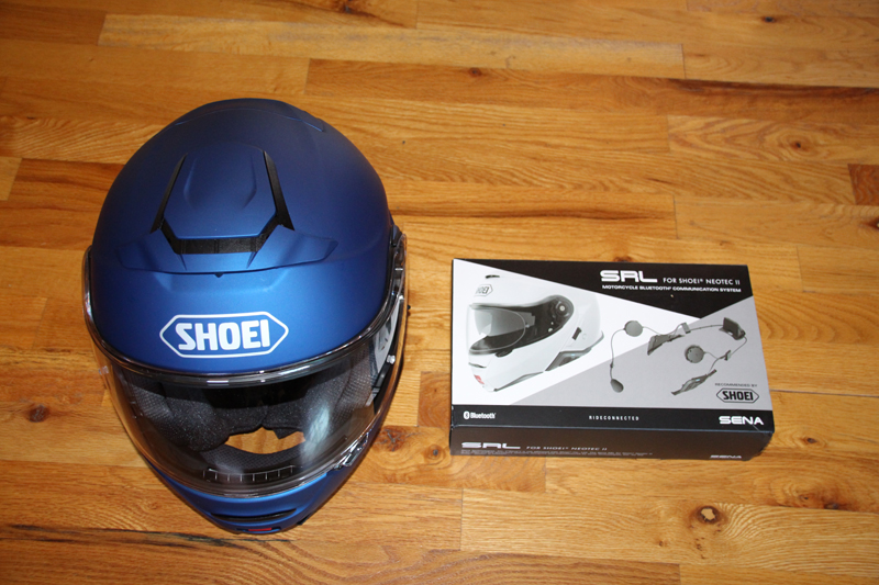 review shoei neotech ii with sena srl communication system price