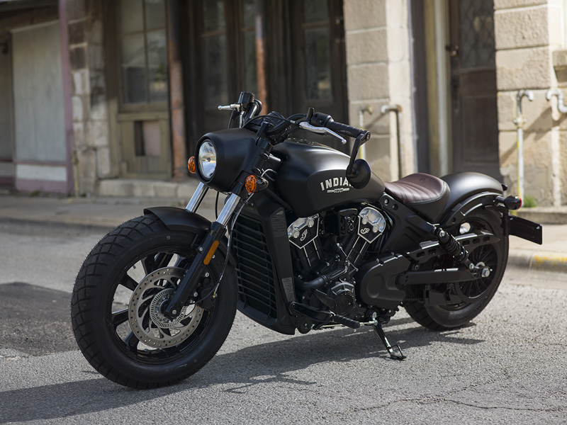 less is more indian scout bobber mirrors down