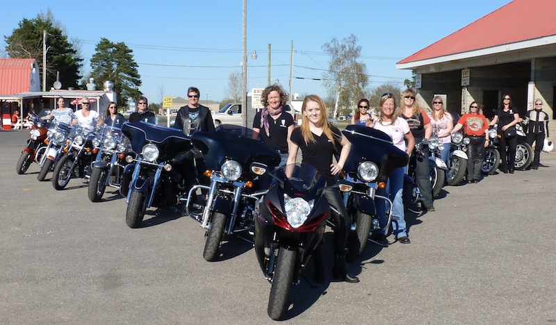 International Female Ride Day Ottawa