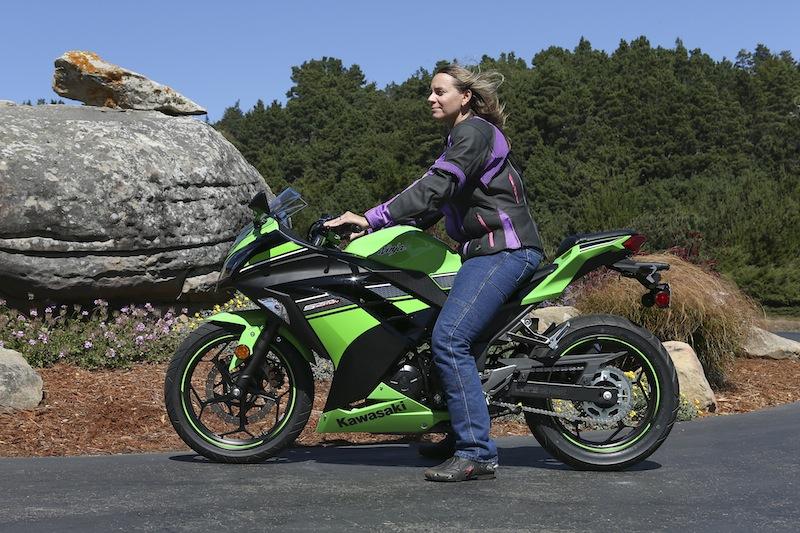 Kawasaki Ninja 300 Review Seat Height