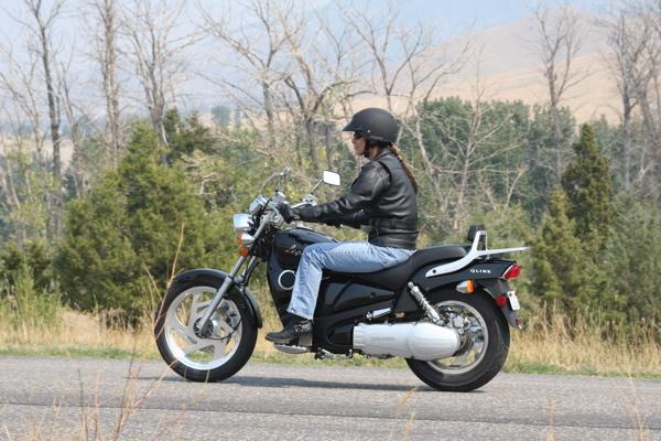 Review QLINK Legacy 250 Riding