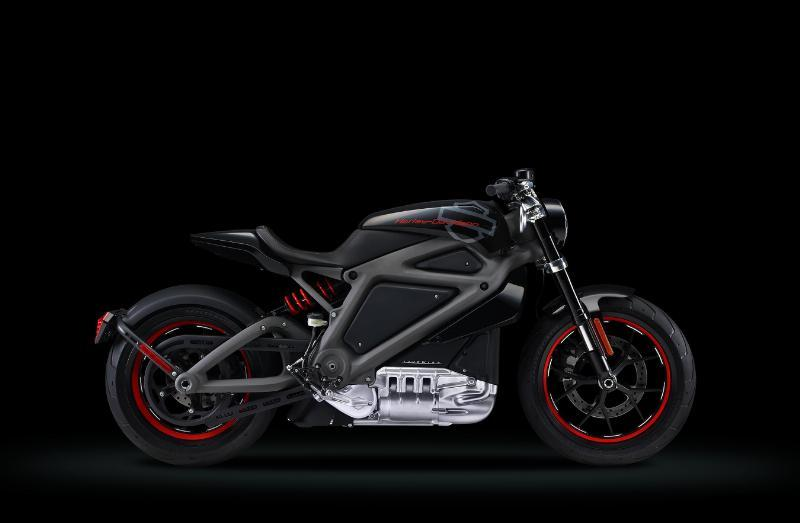 Harley-Davidson Introduces Electric Motorcycle LiveWire