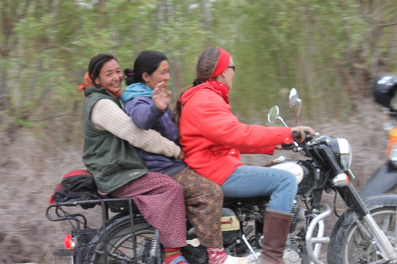Backroads with Betsy Motorcycling in the Himalayas Royal Enfield 500