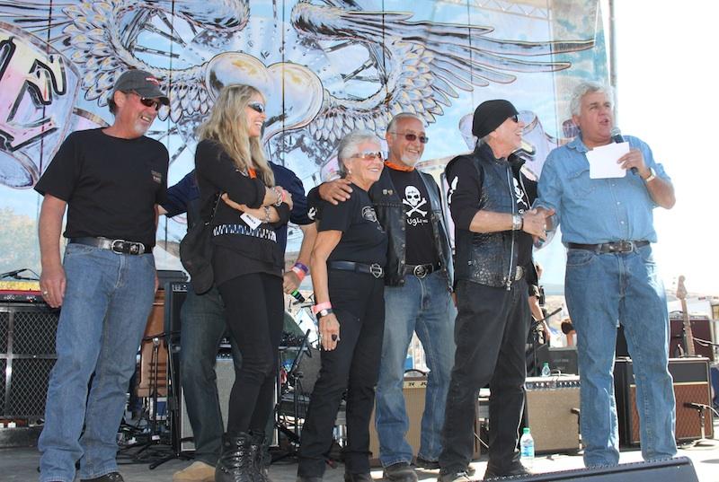 Backroads with Betsy Love Ride 30 Jay Leno Davidson family