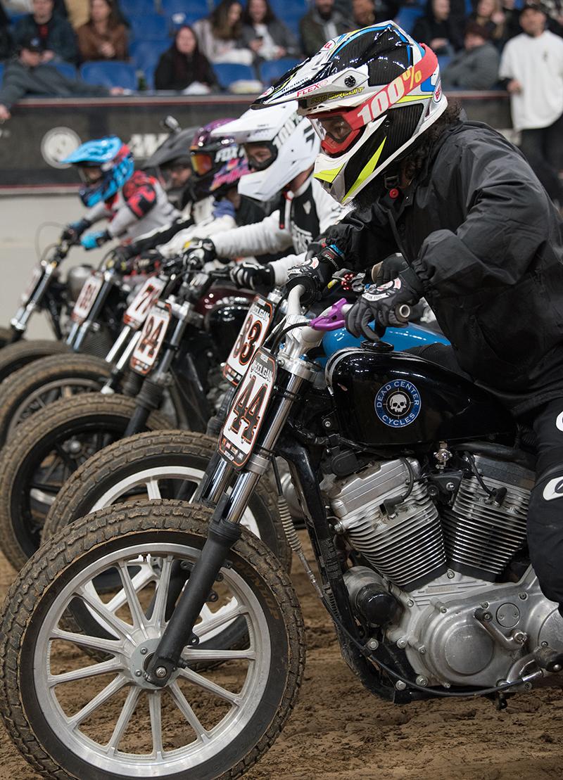 top women motorcycle builders dead center cycles super hooligan race