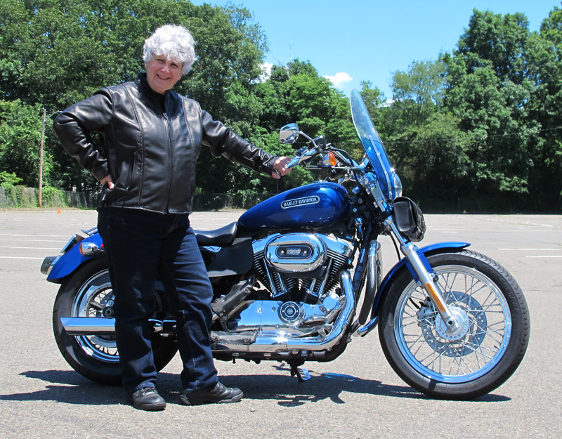 review leather motorcycle jacket with braided detail made in usa sportster