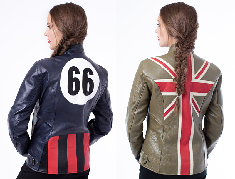 fashionable protective womens motorcycle apparel flying duchess jackets