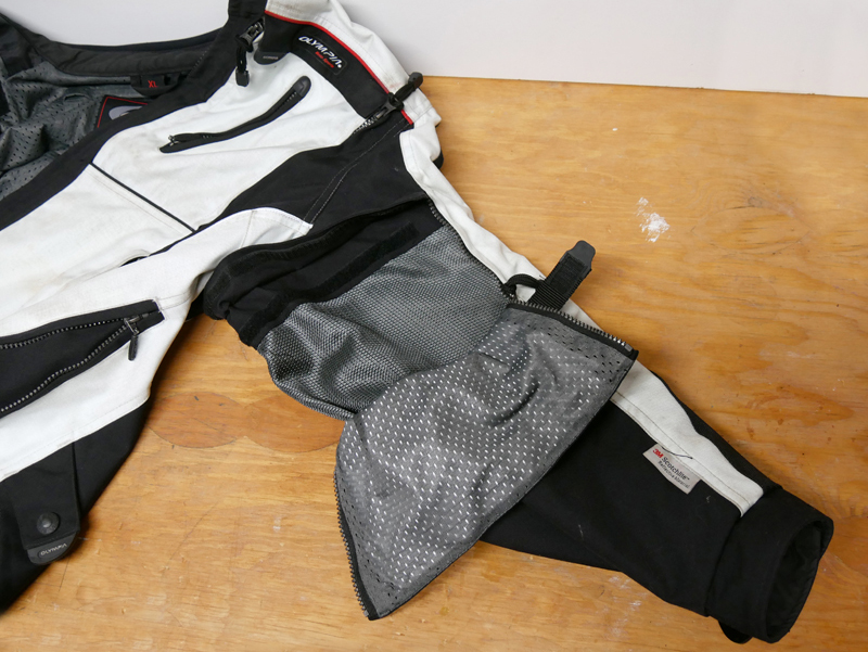 affordable technical 4 season motorcycle riding suit vented arm