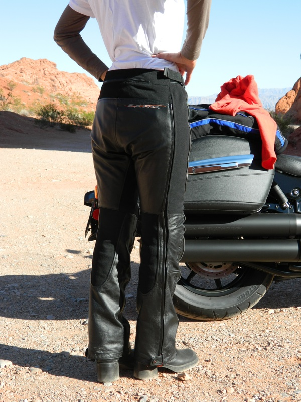 Harley-Davidson FXRG Leather Overpant Review Fit
