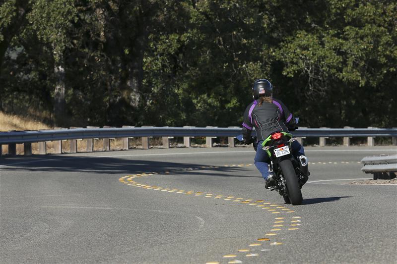 Kawasaki Ninja 300 Review Rear Tire