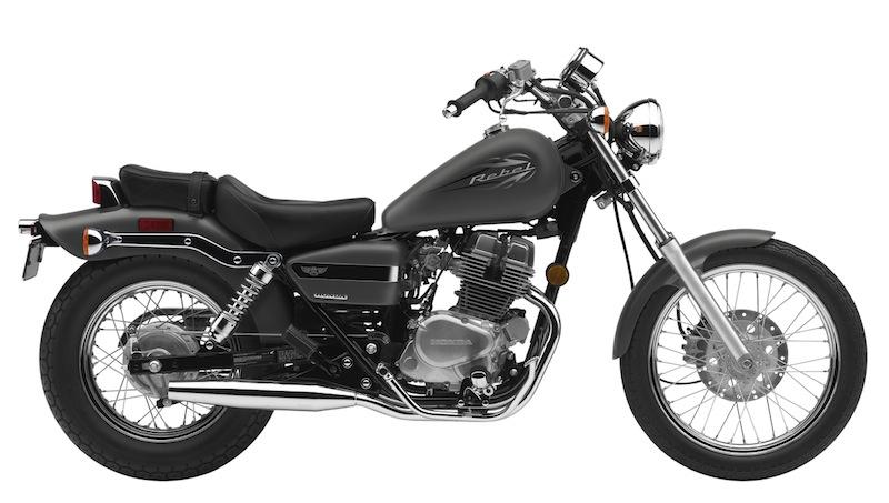 Honda Rebel Color Options 2012 Silver