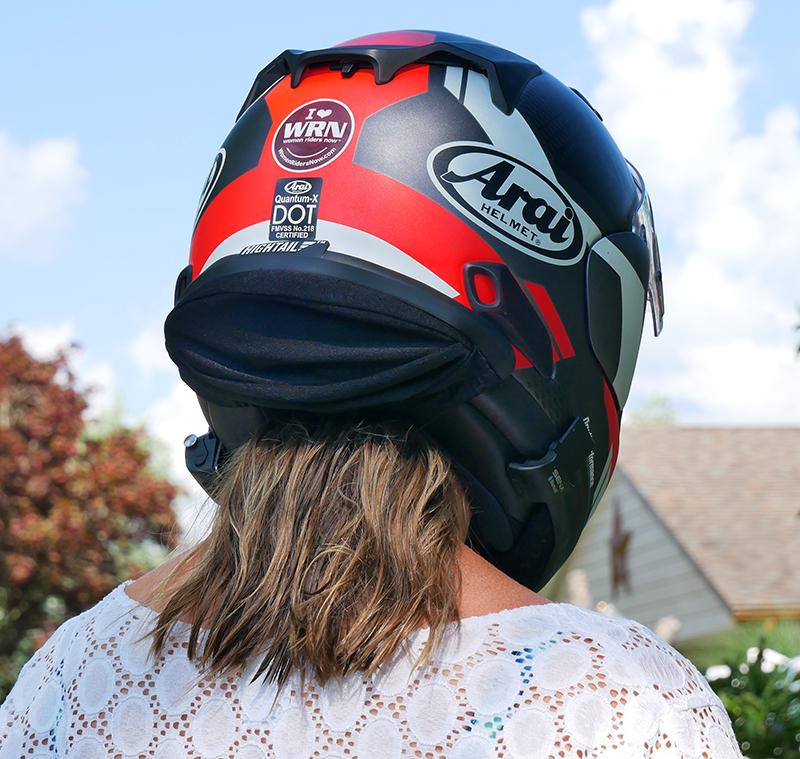 hightail bike hair protector eliminates tangles wind damage ponytail