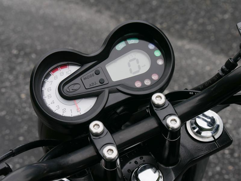 kymco spade 150 small motorcycles big fun dash