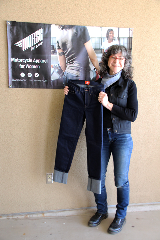 worse for wear protective motorcycle jeans crosstown 4.0 curvy front