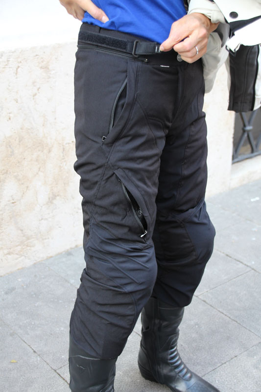 review dainese gore-tex jacket and pants review waist cinch