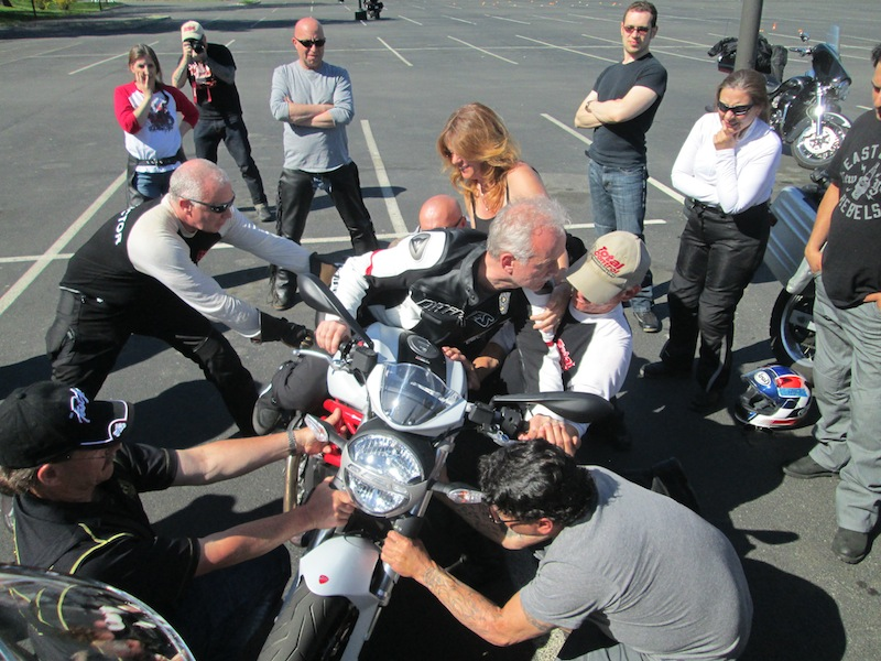 Talk about hands on! The Lee Parks Total Control Advanced Riding Clinic is a course for experienced riders looking to increase their skills and improve their overall safety.