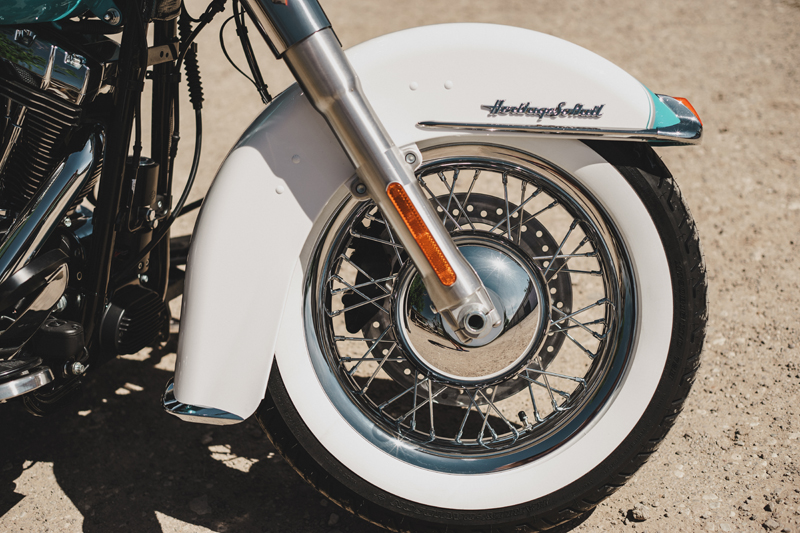 review 2016 harley davidson heritage softail classic wheel
