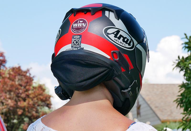 hightail bike hair protector eliminates tangles wind damage safe