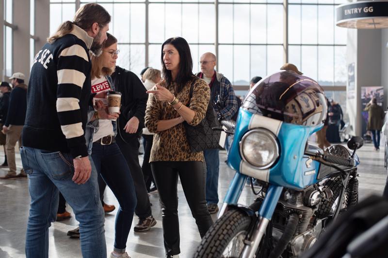 top women motorcycle builders jacquie jaeger one moto show