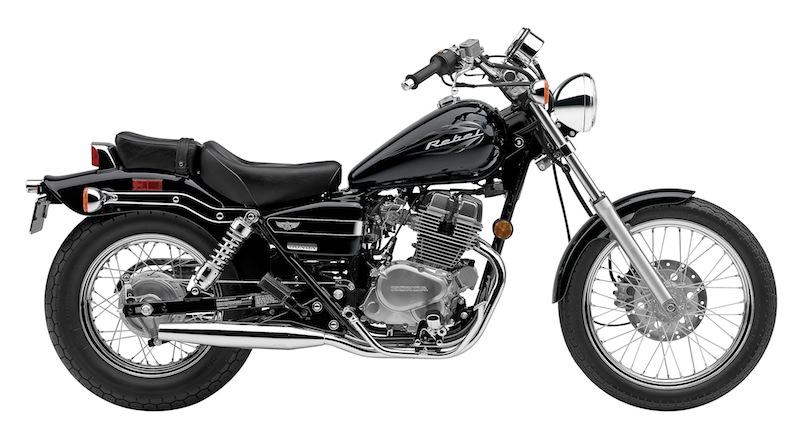 Honda Rebel Color Options 2014 Black