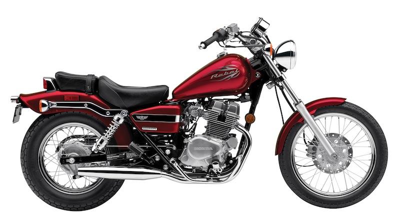 Honda Rebel Color Options 2014 Red