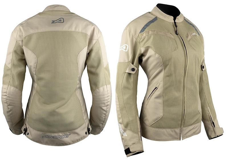 agv sport motorcycle jacket review sharp khaki