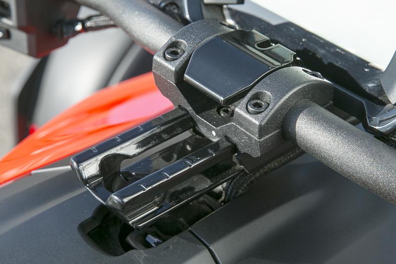 Three-Wheeler Review: Can-Am Ryker Handlebars 2
