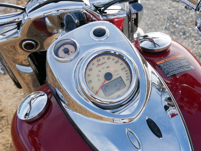 review 2016 2017 indian motorcycle springfield speedometer