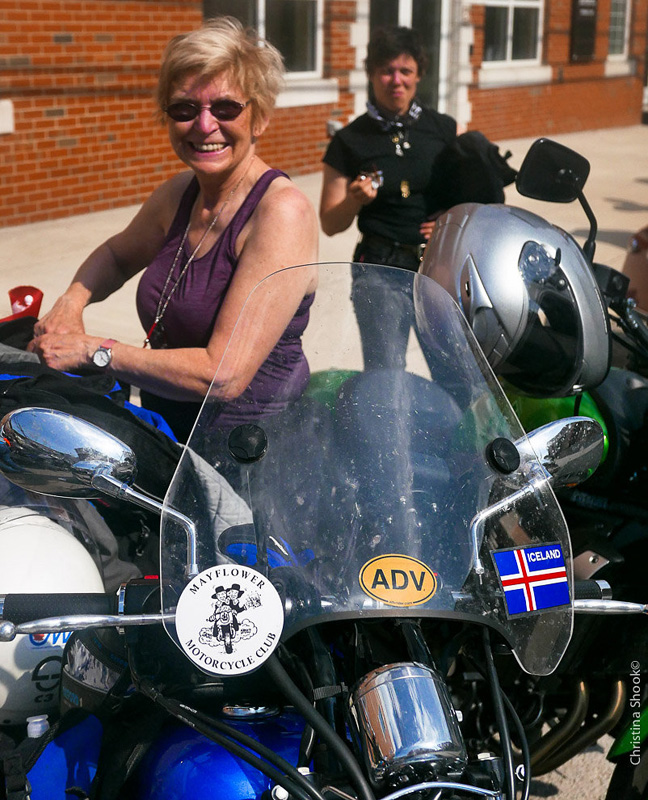 large scale womens motorcycle ride wraps up in san francisco holly ralph