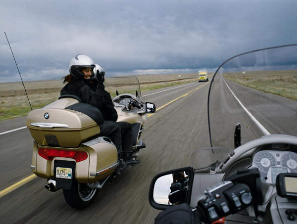 motorcycle passenger tips bmw